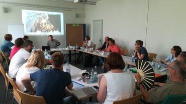 Foto aus der Sitzung